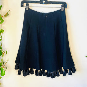 Black Tassel Skirt (XS)