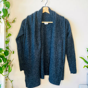 Cashmere Open Front Cardigan (XS)