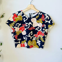Load image into Gallery viewer, Floral Crop Top (S)