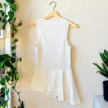 Load image into Gallery viewer, Zara Asymetrical Cream Shirt (S)
