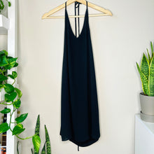 Load image into Gallery viewer, Black Halter Top Shift Dress (XS)