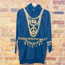Load image into Gallery viewer, Moschino for H&M Embellished Hooded Dress (S)