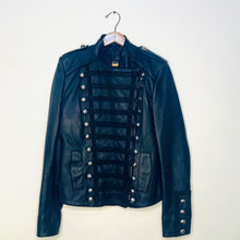 Load image into Gallery viewer, Embellished Leather Jacket (S)