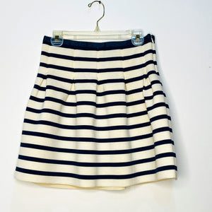 Fit & Flare Striped Skirt (M)
