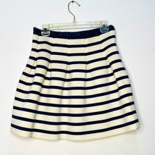 Load image into Gallery viewer, Fit & Flare Striped Skirt (M)