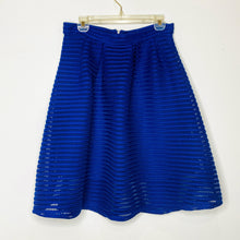 Load image into Gallery viewer, Royal Blue Mid-Length Skirt (L)