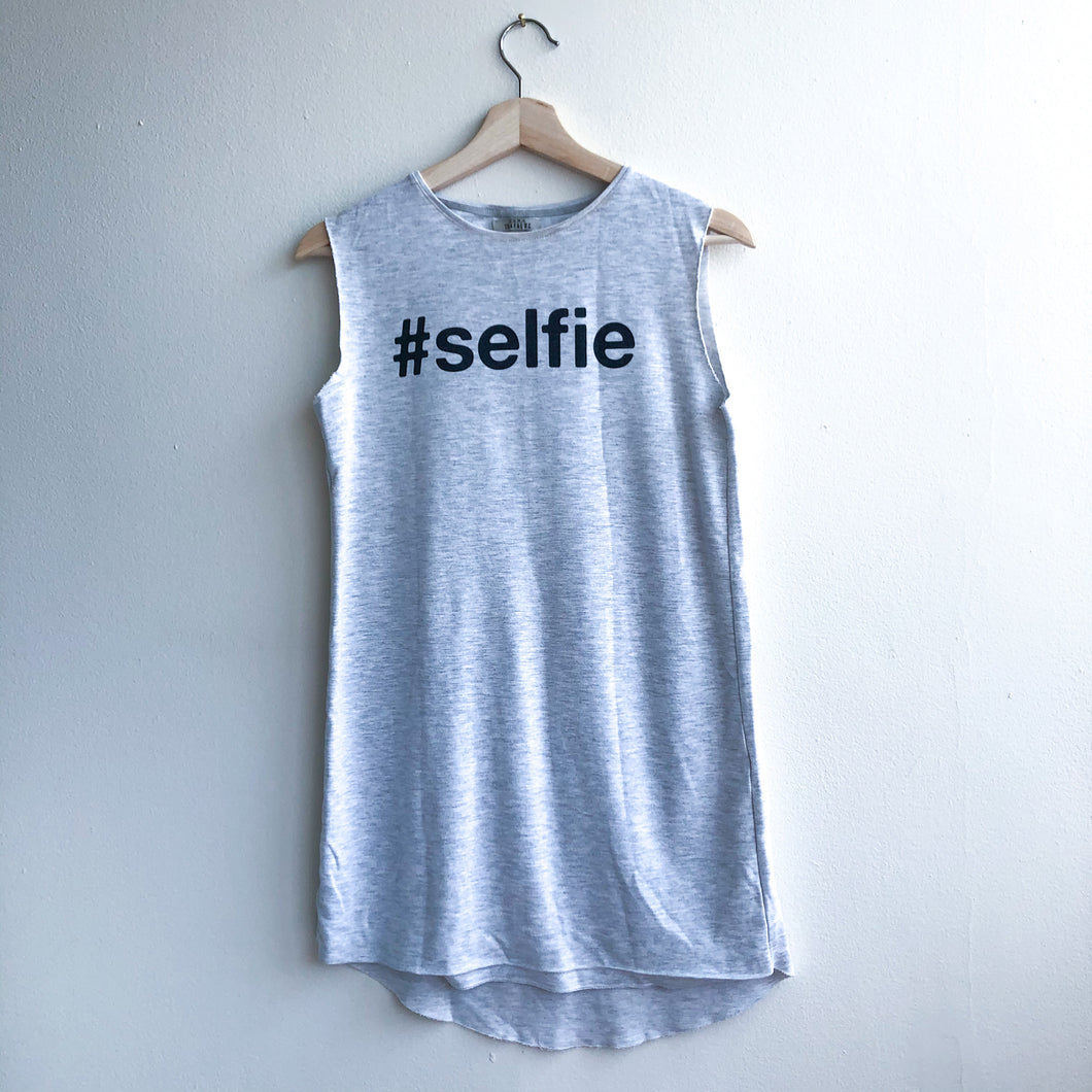 Selfie T-Shirt Dress