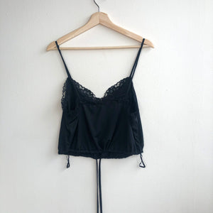 Lace Trim Cropped Camisole