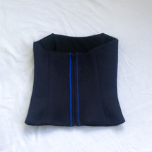 Load image into Gallery viewer, Navy Corset Top