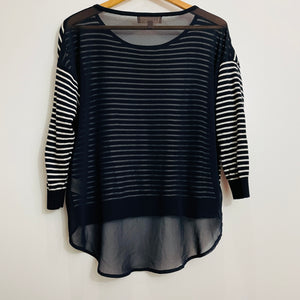Philosophy Striped long-sleeve shirt