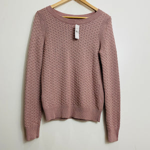 Loft Cableknit Pullover Sweater