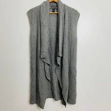Load image into Gallery viewer, Halogen Cardigan Drape Front Sweater Vest