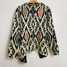Load image into Gallery viewer, 65 Sixty Five Geometric Pattern Knit Cardigan