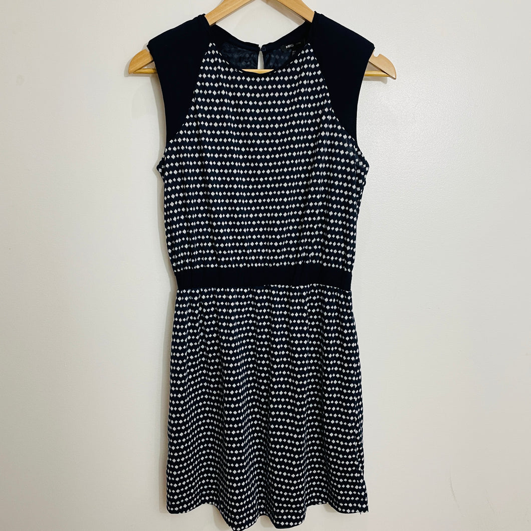 MNG Polka Dotted Dress