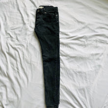 Load image into Gallery viewer, Charcoal Gray Stretch Skinny Jeans