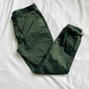 Forest Green Slim Fit Chinos