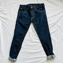 Load image into Gallery viewer, Dark Wash Skinny Jeans