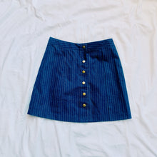 Load image into Gallery viewer, Denim Striped Skirt