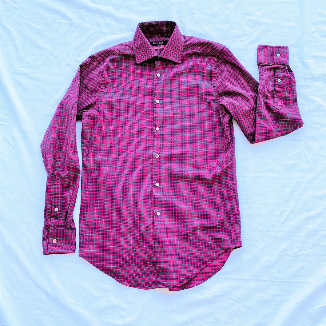 Red Checkered Dress Shirt