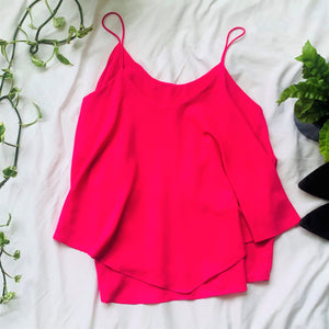 Hot Pink Spaghetti Strap Top