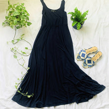 Load image into Gallery viewer, Navy Tank Maxi Dress