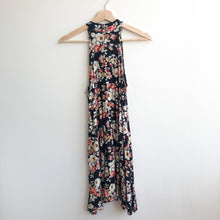 Load image into Gallery viewer, Floral Halter Swing Dress