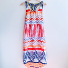 Load image into Gallery viewer, Geometric Tank Maxi Dress