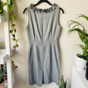 Leigh Sleeveless Wool Blend Dress