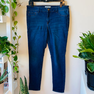 Medium Rise Skinny Jeans (XL)