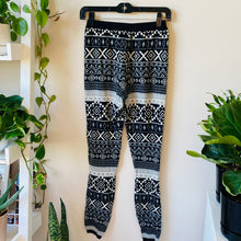Load image into Gallery viewer, Knit Printed Joggers (M)