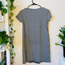 Load image into Gallery viewer, Houndstooth T-Shirt Dress