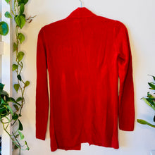 Load image into Gallery viewer, Red Petite Cardigan (XS)
