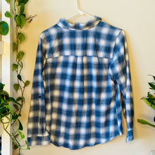 Load image into Gallery viewer, Light Blue Flannel Shirt