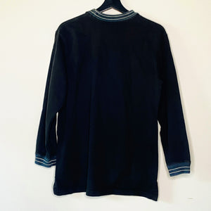 Black Mock Neck Shirt (M)