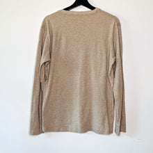 Load image into Gallery viewer, Wheat Long Sleeve Cotton Tee (L)