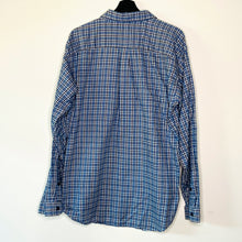 Load image into Gallery viewer, Navy Flannel Shirt (L)