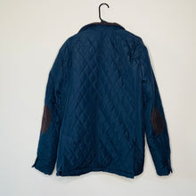 Load image into Gallery viewer, Navy Quilted Jacket with Corduroy Accents (XL)