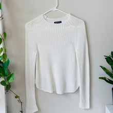Load image into Gallery viewer, White Knit Sweater