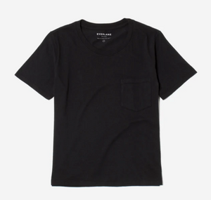 Black Box-Cut Pocket Tee