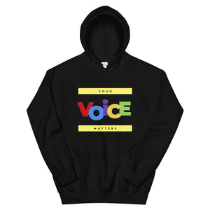 Open image in slideshow, Your Voice Matters Hoodie