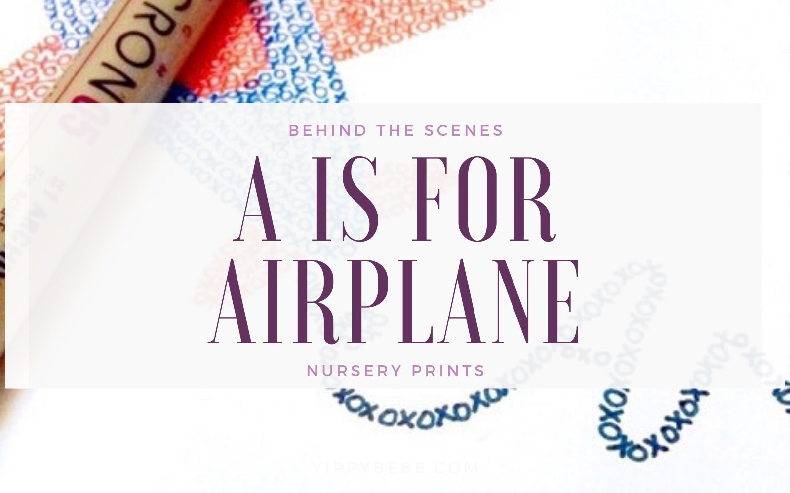 A is for Airplane and Avery
