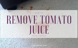 How to Remove Tomato Juice from Carpet