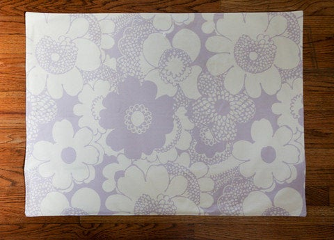 Full Body Changing Pad - Lavender flowers