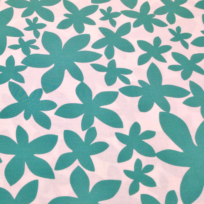 Yippy BeBe NJ fabric store Lotta Jansdotter fabric Glimma Emerald Green Marby Flowers photo