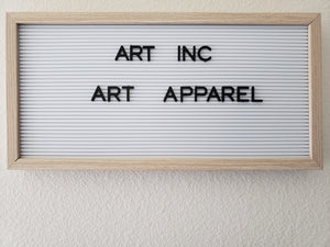 A Work of ART, ART Apparel