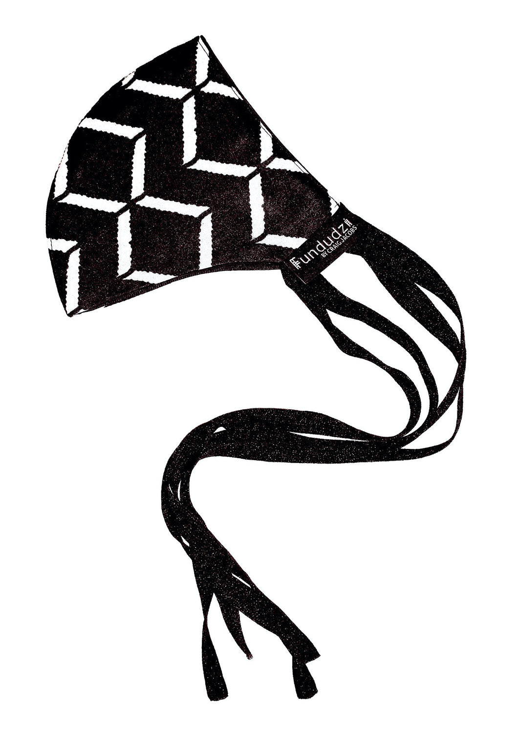 Abiola Monochrome cloth facemask