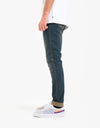 Route One Skinny Denim Jeans - Mid Wash
