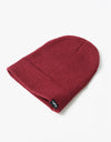 Route One Fisherman Beanie - Burgundy