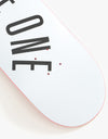 Route One Arch Logo 'OG Shape' Skateboard Deck - 7.75