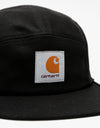 Carhartt WIP Backley 5 Panel Cap - Black